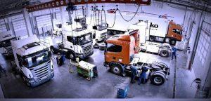 ремонт, диагностика и обслуживание грузовиков