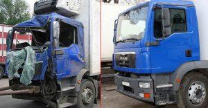Ремонт кузова грузовиков в Казани